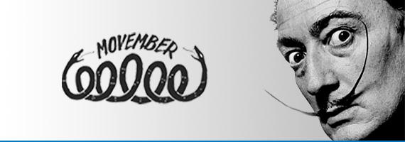Movember Dalí