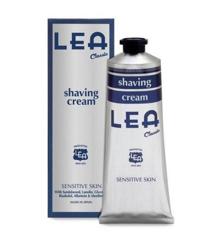 crema de afeitar con brocha