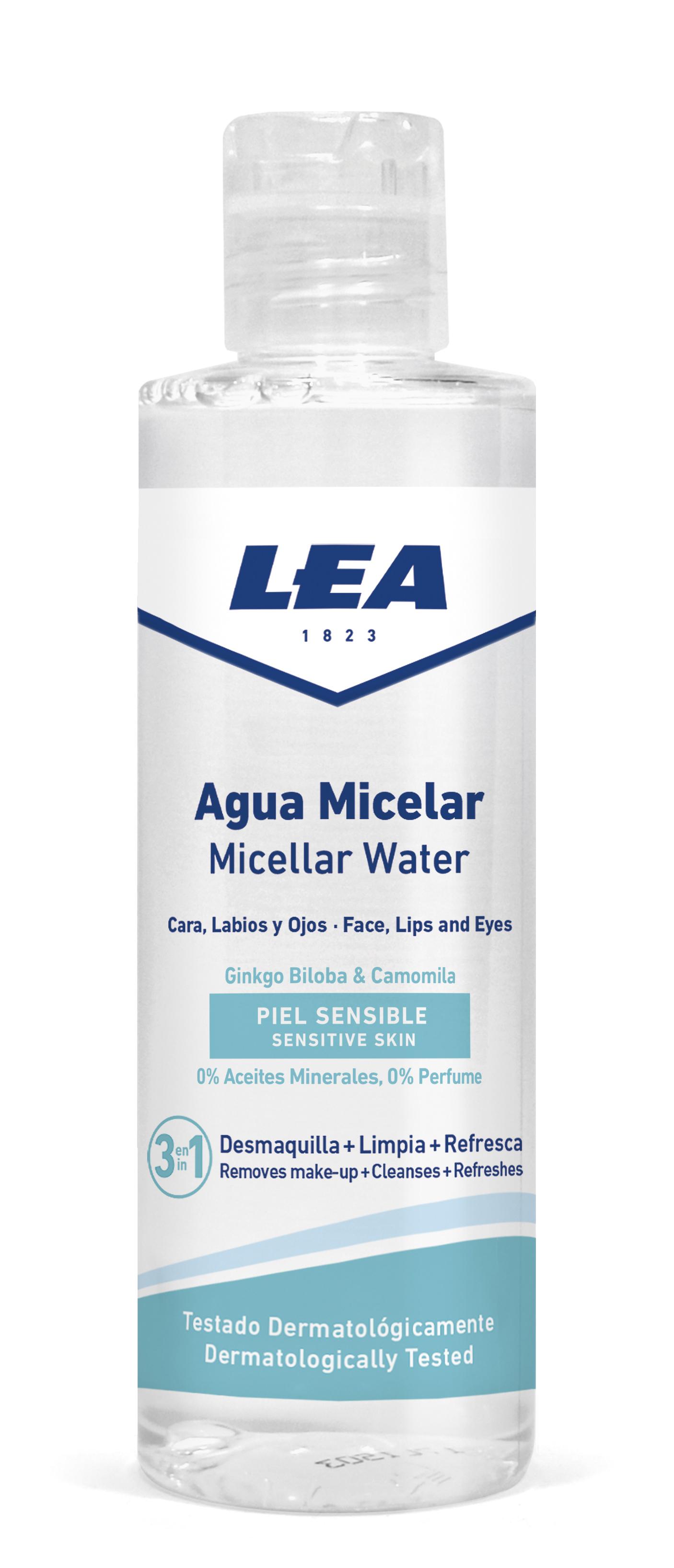 Agua Micelar Desmaquillante LEA