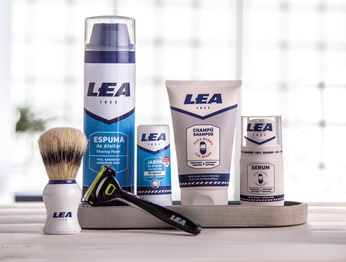 Productos de afeitado y barba LEA